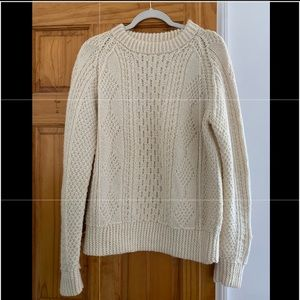 Vintage • fisherman sweater